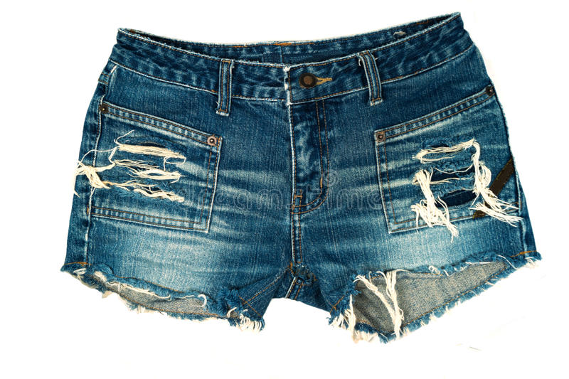 Download Jeans shorts stock photo. Image of textile, garment, style - 34190556