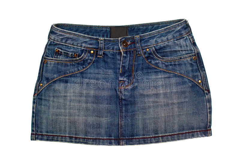 Download Jeans Skirt Royalty Free Stock Photo - Image: 22230355