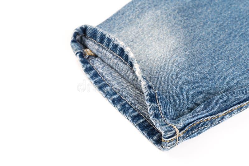 Jeans sur le fond d'isolement photographie stock