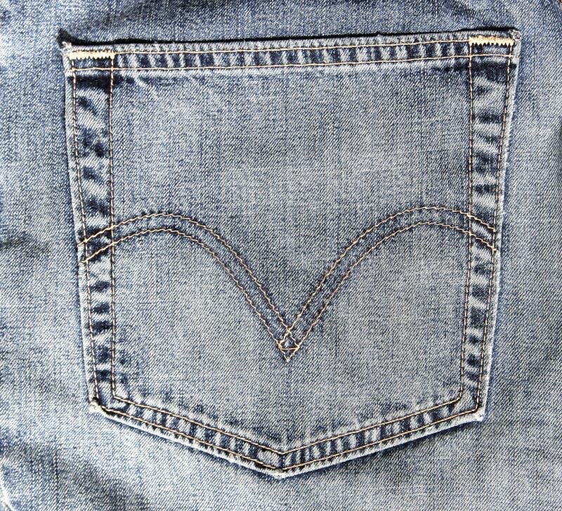 Jeans-Tasche lizenzfreies stockbild
