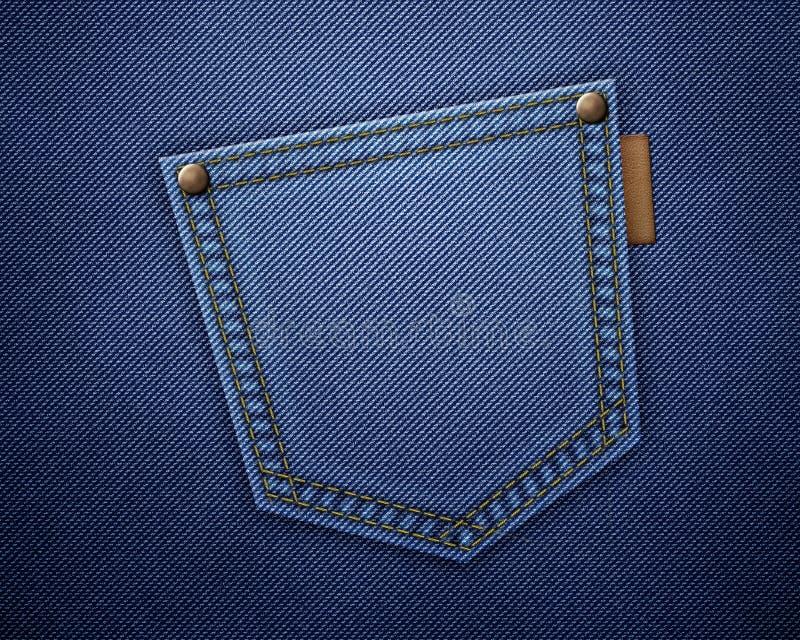 Download Jeans texture stock illustration. Illustration of pattern - 22404838