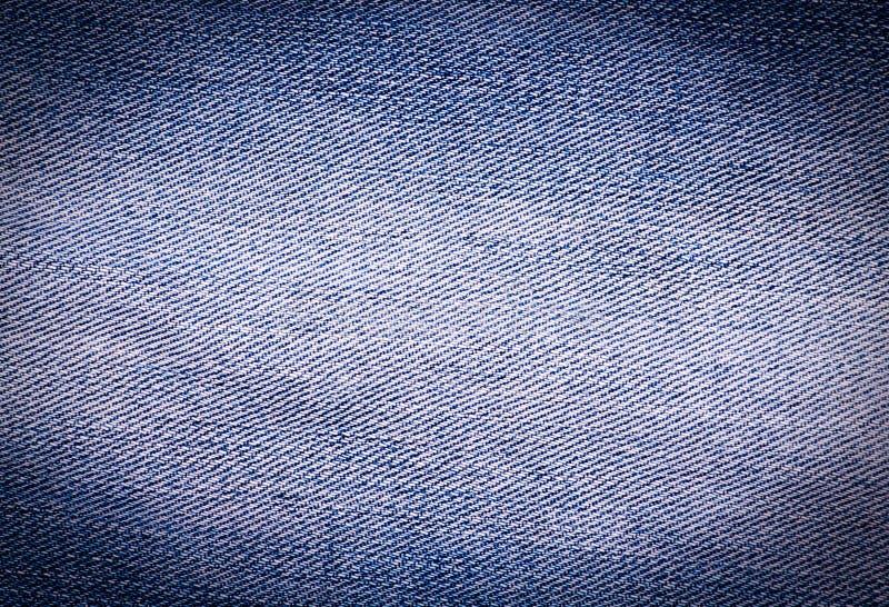 Jeans utilisés par bleu texturisé rayé images libres de droits