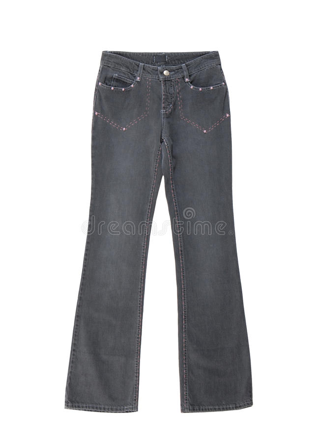 Download Jeans Is On White Background Stock Image - Image: 25905623