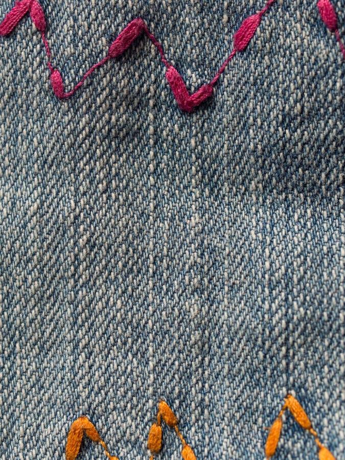 Jeans zig zag