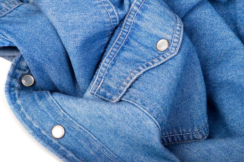 Download Jeansskjorta fotografering för bildbyråer. Bild av gammalt - 523505