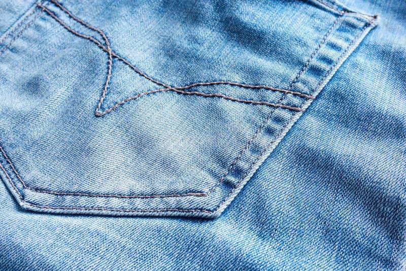 Jeanstyg med bakfickan arkivbilder