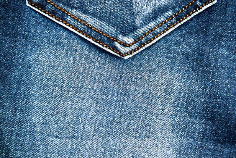 Jeanstygtextur med facket fotografering för bildbyråer