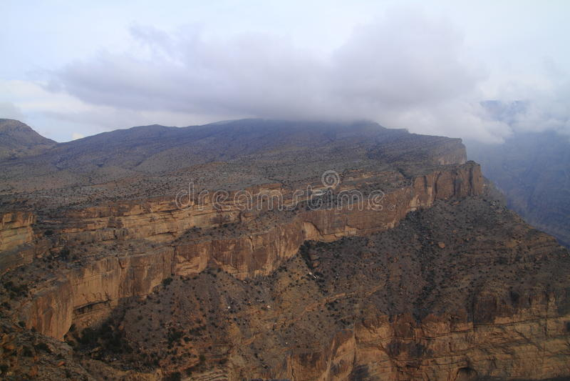 Jebel Shams stock photos