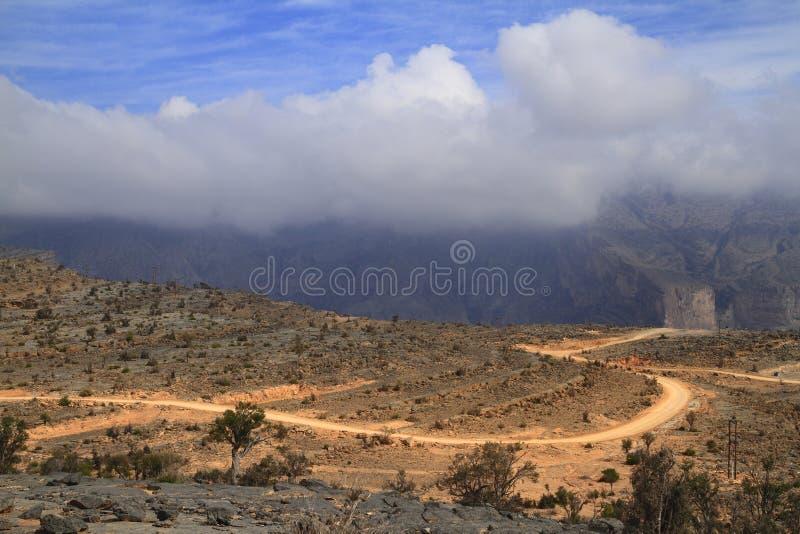 Jebel Shams royalty free stock image
