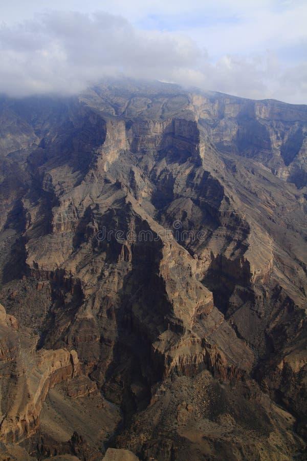 Jebel Shams stock images