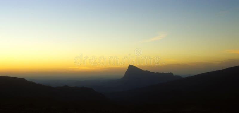 Jebel Shams in Oman stock photos