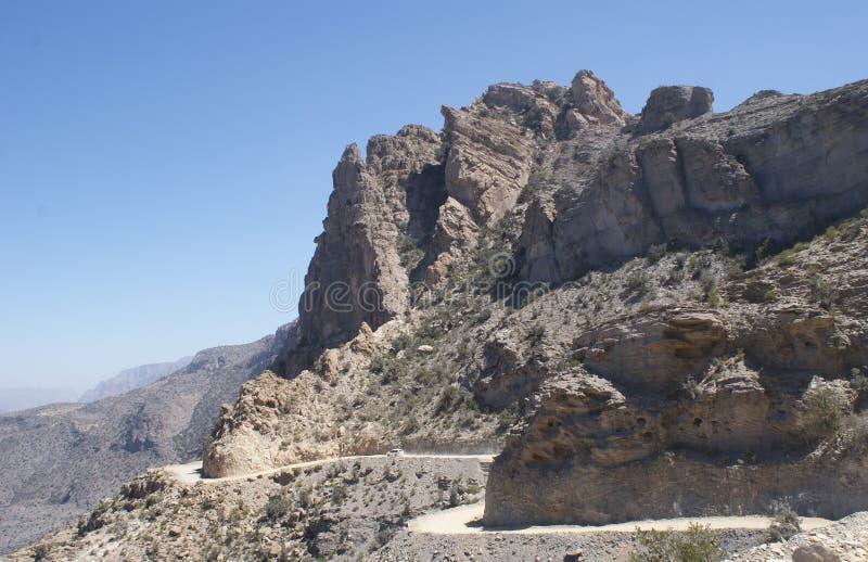 Jebel Shams, Oman royalty free stock photo