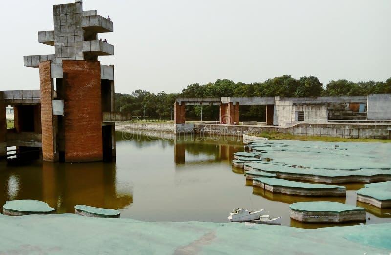 Jebon Nagor,朱瓦当加,meherpur,Mujibnator公园 库存图片