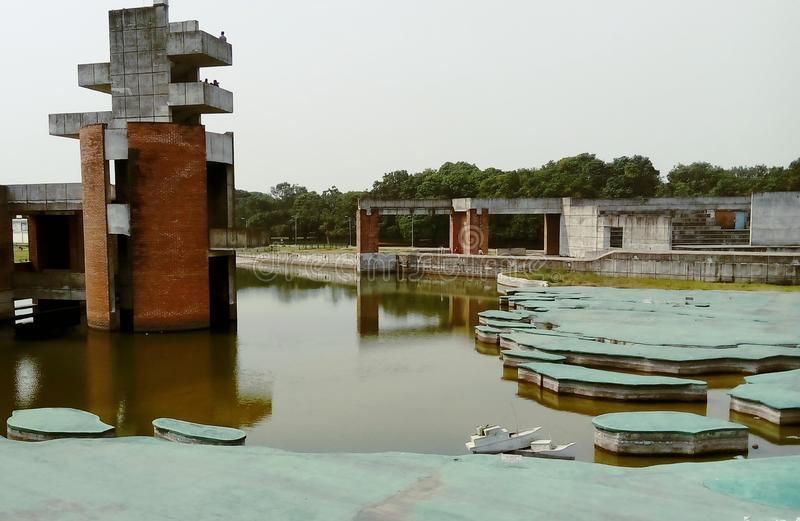 Jebon Nagor, Chuadanga, meherpur, Mujibnator-park stock afbeeldingen
