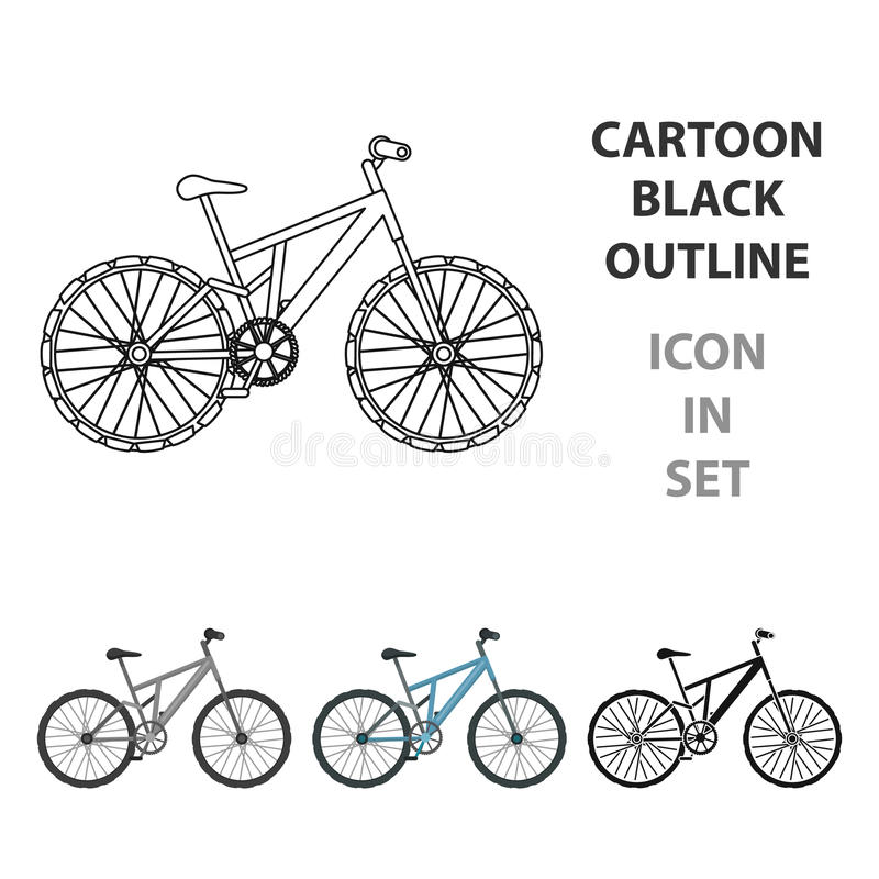 jechać na rowerze target1669_0_ cyklisty głębii pola ostrości lasu ręk halną perspektywy płyciznę Jeździć na rowerze zjazdowy od  ilustracja wektor