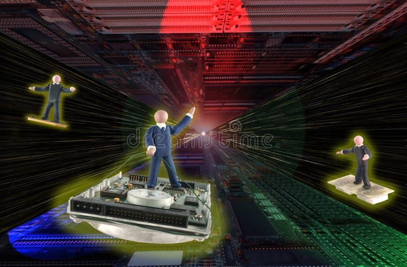 jedź elektronika wszechświata warp fotografia royalty free