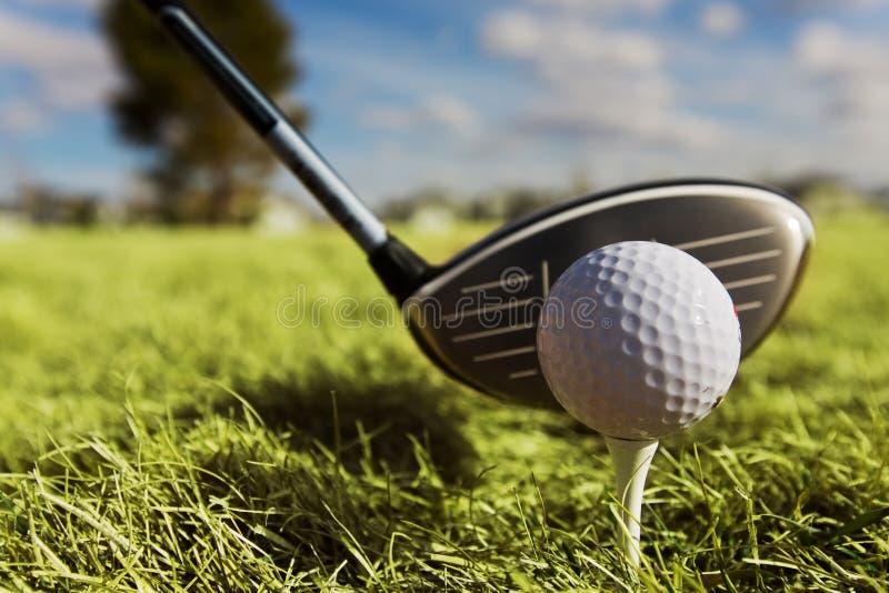 jedź w golfa zdjęcia royalty free