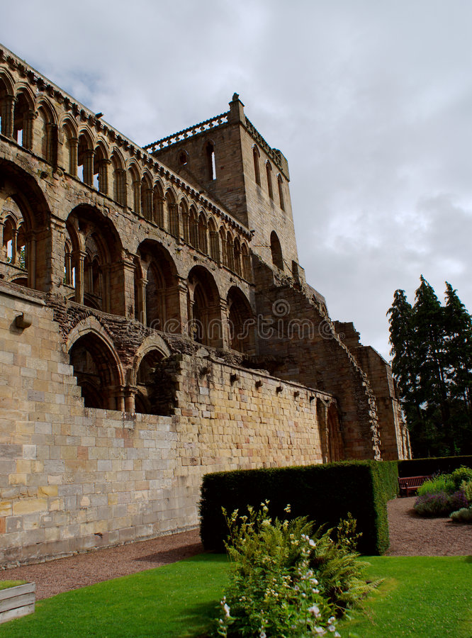 Download Jedburgh Abbey - Tourists Attraction Stock Image - Image: 9041075