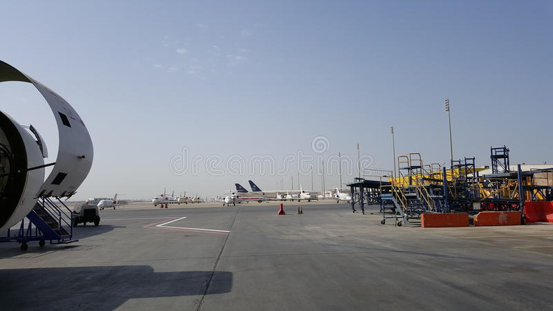 Jeddah Airpot stock photography