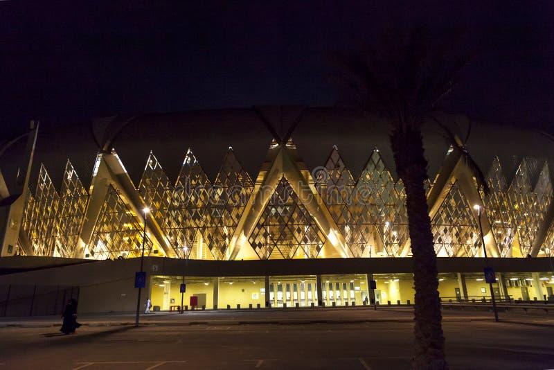 Jeddah, Arábia Saudita -16 outubro de 2018, rei abdullah ostenta o estádio da cidade é casa ao futebol da Arábia Saudita fotos de stock