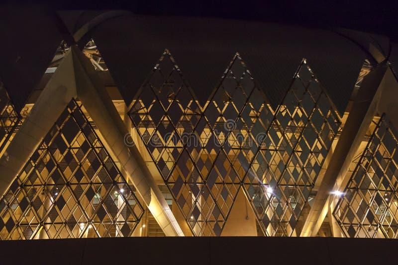 Jeddah, Arabie Saoudite -16 en octobre 2018, roi abdullah folâtre le stade de ville est à la maison au football de l'Arabie Saoud photos libres de droits