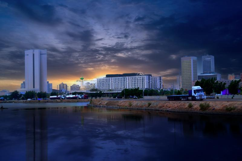Download Jeddah, The Commercial Center Stock Photo - Image: 21062718