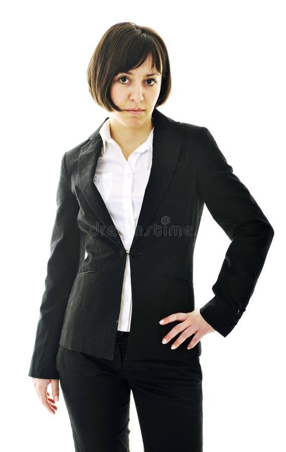 Jeden biznesowa kobieta fotografia stock