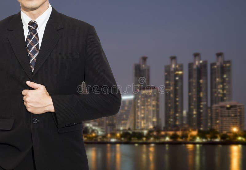 Jeden Biznesowy mężczyzna 12 zdjęcia stock