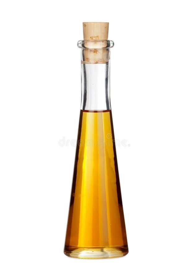 Jeden butelka Makowy Nasieniodajny olej fotografia stock