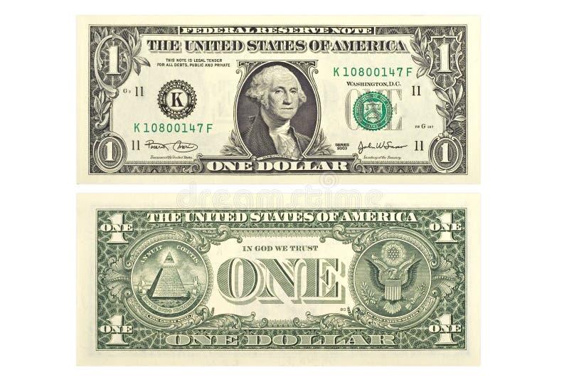 jeden dolar zdjęcie royalty free