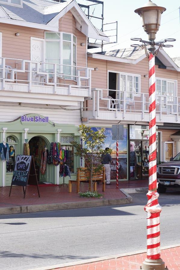 Jeden dużo robi zakupy w Ensenada obraz stock