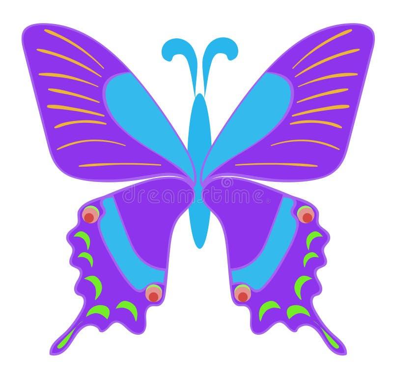 Jeden motyl zdjęcia royalty free