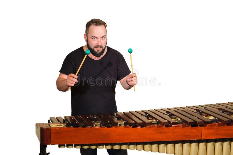 Jeden perkusja gracz zdjęcie royalty free