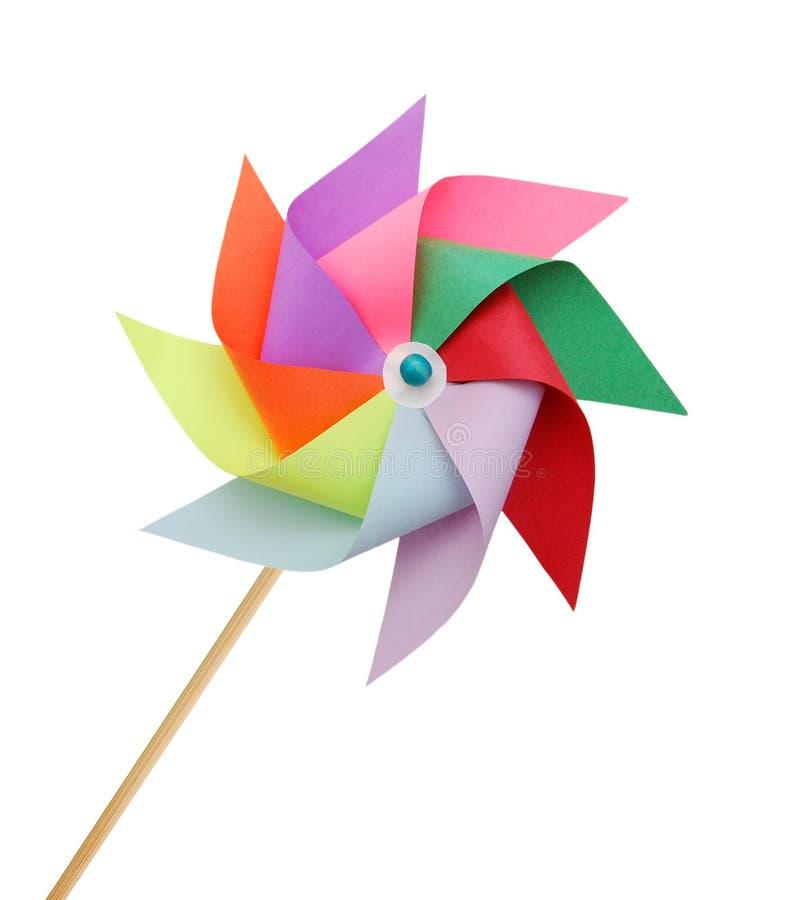 Jeden pinwheels zdjęcie royalty free