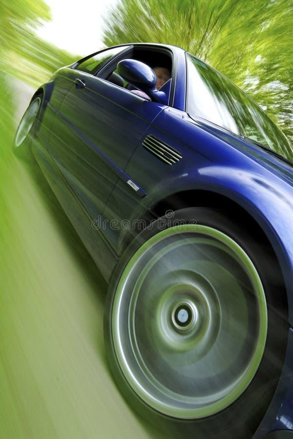 jeden samochód obrazy royalty free