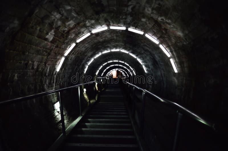 Jeden sposób ciemność zdjęcia stock