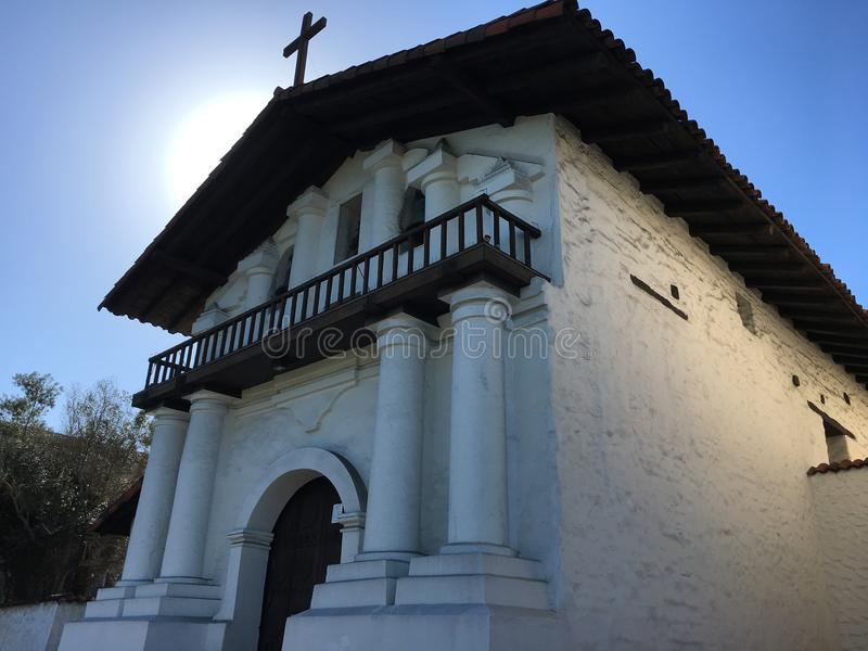 Jeden stary ximpx budynek w San Fransisco; Mision San Fransisco de Azja, 2 zdjęcie stock