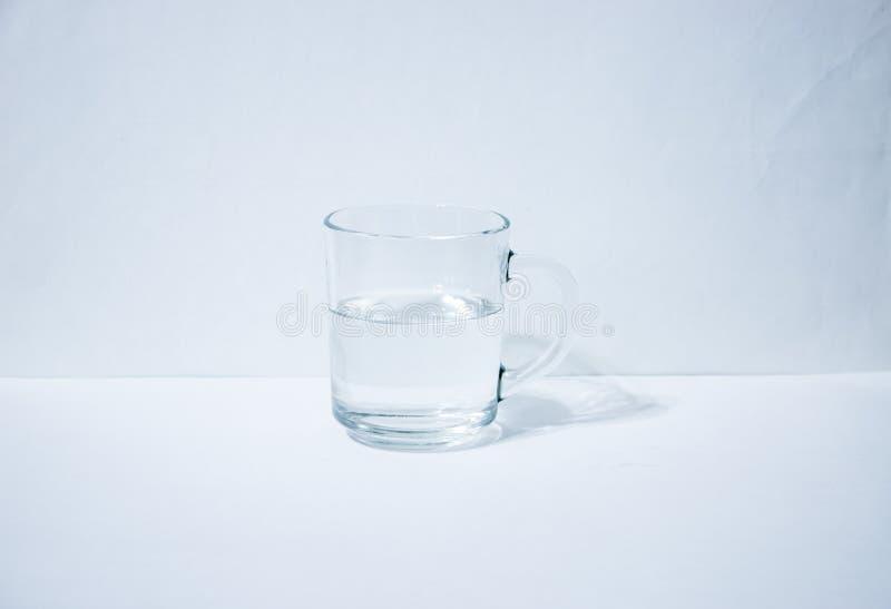 Jeden szkło z wodą zdjęcia royalty free