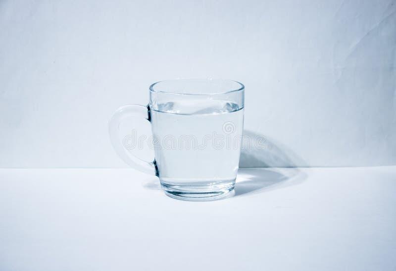 Jeden szkło z wodą obraz royalty free