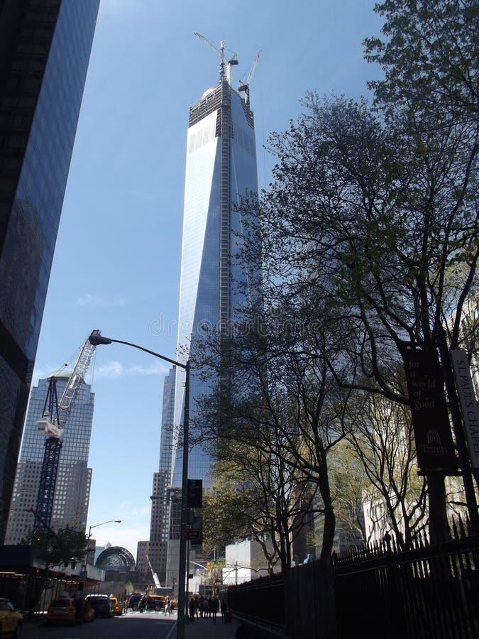 Jeden world trade center Manhattan fotografia royalty free