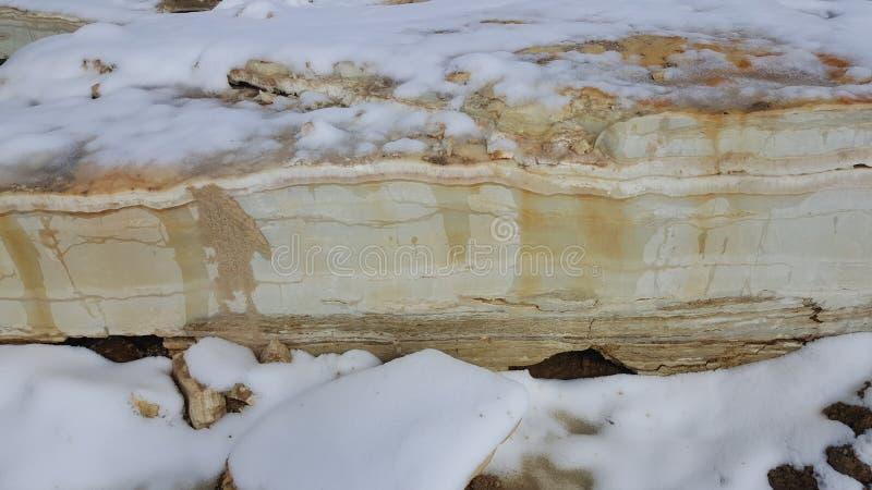 Jeden wypięknia onyks na górze kamiennego moutain zdjęcia royalty free