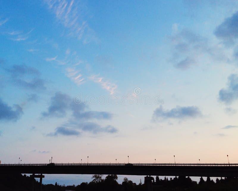 Jeder Sonnenuntergang ist in seinem einzigartig stockfoto