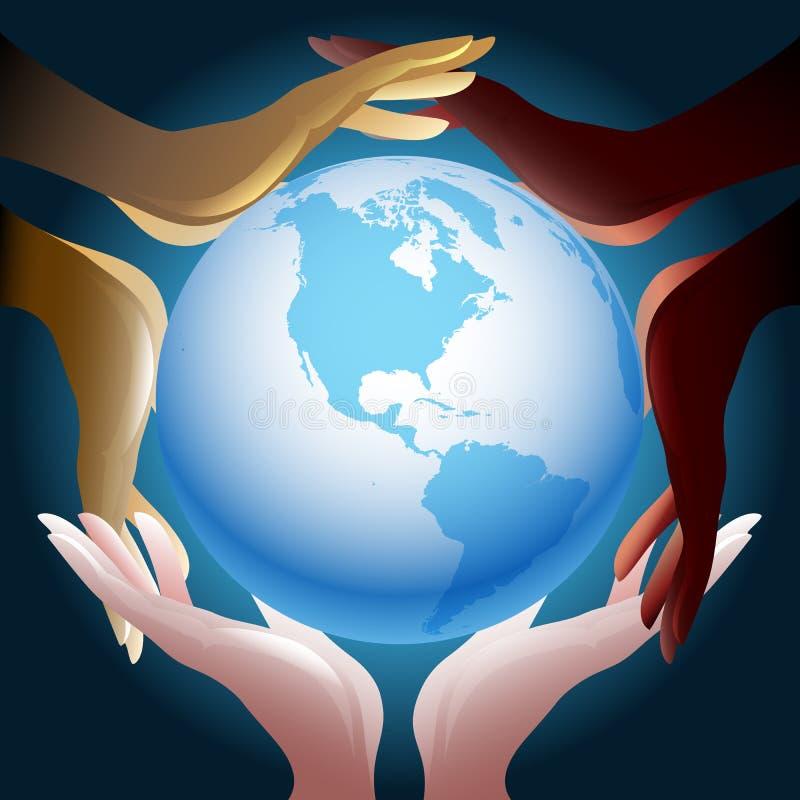 Jedność ilustracja wektor