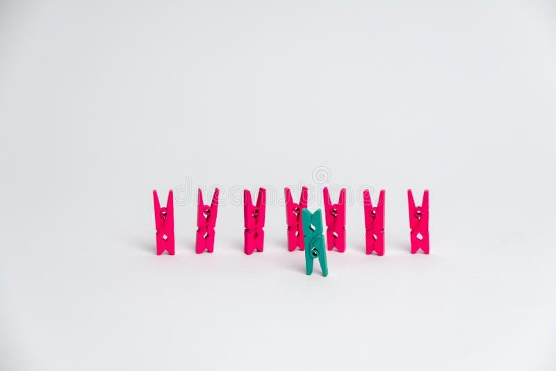 Jedności i różnorodności pojęcie zdjęcie stock