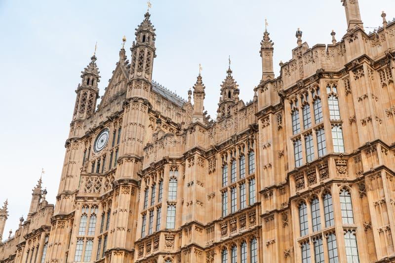 jednoczący królestwo parlament Londyn zdjęcia stock