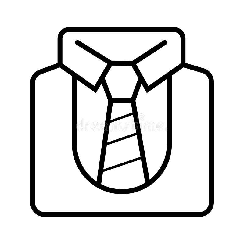 Jednolita kreskowa ikona, konturu wektoru znak, liniowy stylowy piktogram ja ilustracja wektor