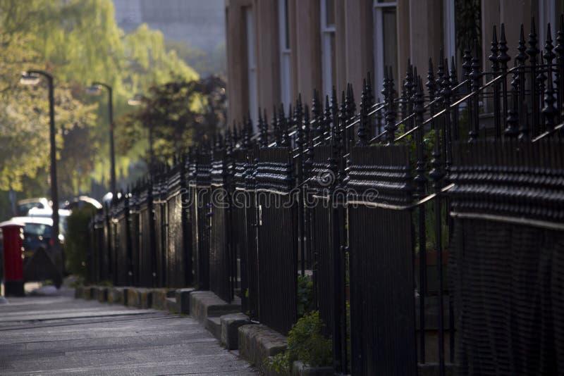 Jednolitość domy w Brytania, Szkocja obrazy stock