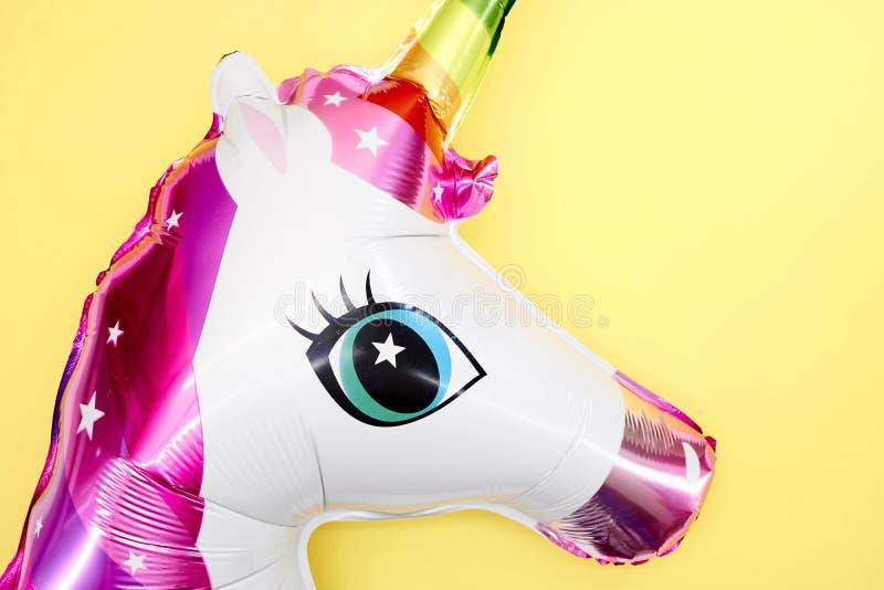 Jednorożec balon zdjęcie royalty free