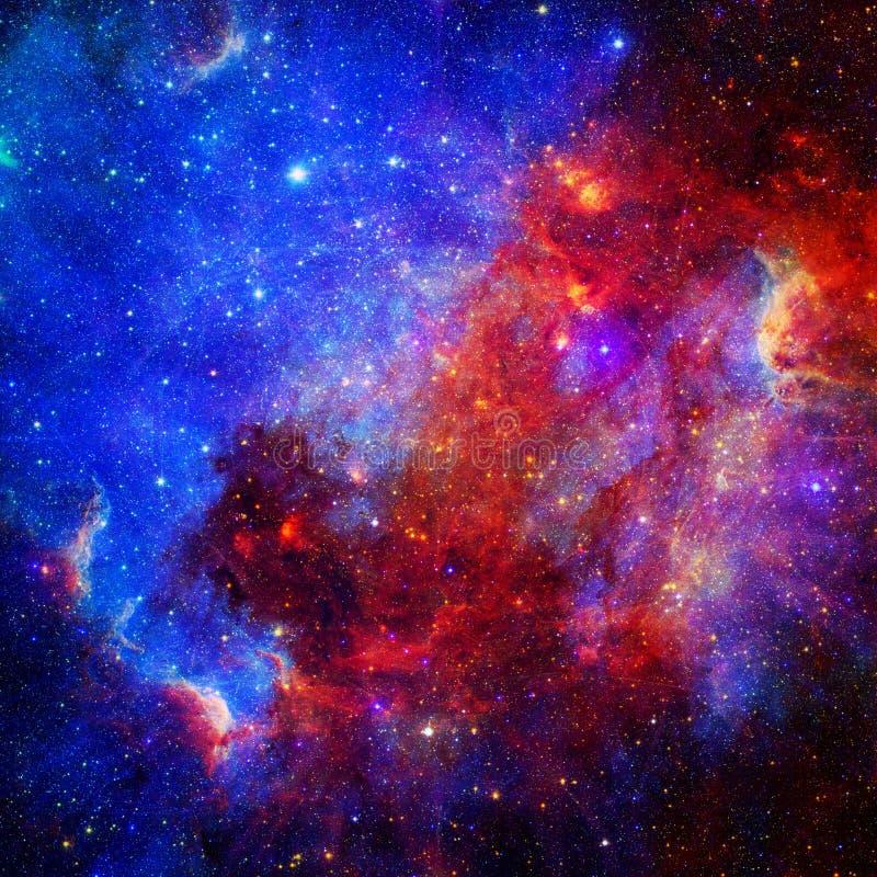 Jednorożec w Astronautycznej Starscape sztuce [Fractal oko] | Torusa Kształtny Fractal | Fractal sztuki tła tapeta Z elementami O ilustracja wektor