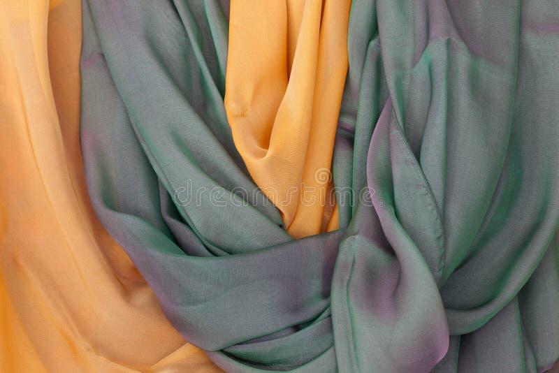 Jedwabniczy szalik zdjęcie stock